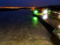 Sunset from the Big Dam Bridge?