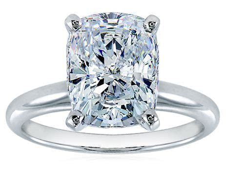 25  best ideas about Rectangle engagement rings on