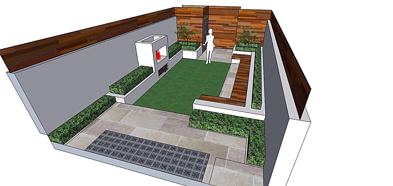 Modern Small Garden Design Ideas Jajlindulu