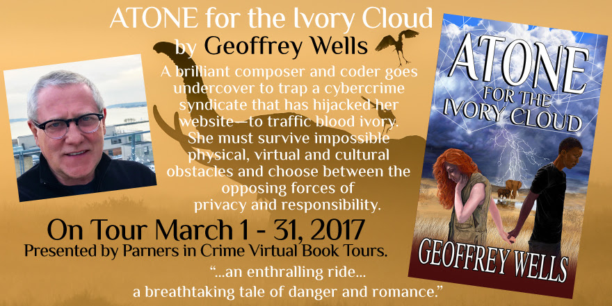 Atone for the Ivory Cloud by Geoffrey Wells Tour Banner