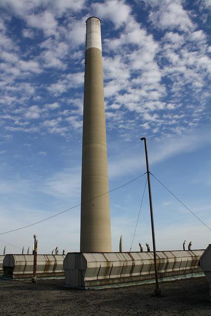 smoke stack clouds