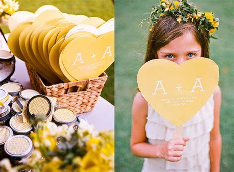 Heart Shaped Wedding Program Fan Template