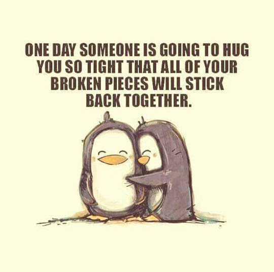[√Get Here!] One Day Someone Will Hug You So Tight Quote