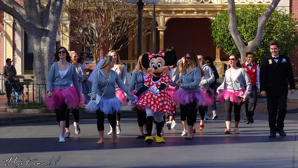 Disneyland Resort, Disneyland, Main Street U.S.A., Minnie Mouse, 2014, Disney Side