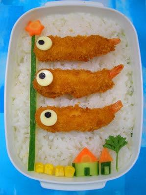 えび鯉のぼり弁当