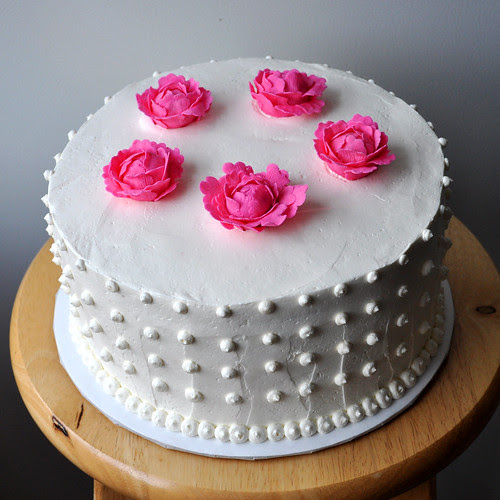Mollys Wedding Cake