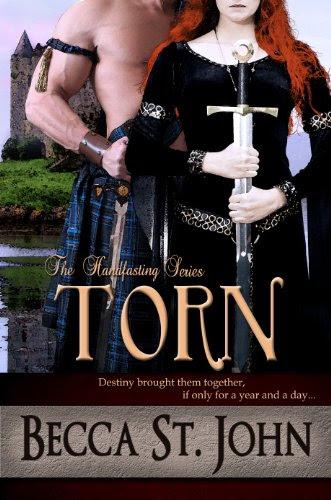Torn (The Handfasting) by Becca St. John