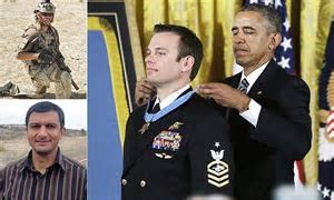 Navy SEAL Edward Byers who rescued US hostage receives