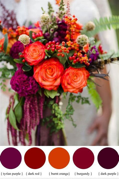 Color Inspiration : Wine Red Color Palette   Wedding Ideas