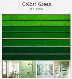 Avente Tile's Green Pinterest Board