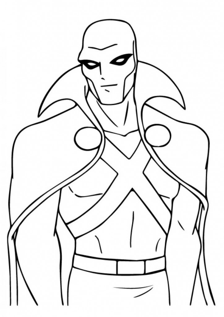 Female Superhero Coloring Pages at GetColorings.com | Free ...