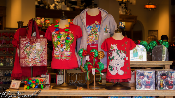 Disneyland Resort, Disney California Adventure, Buena Vista Street, Christmas, Merchandise