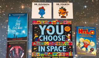 Win a bundle of space books