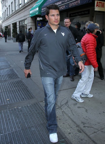 Nick Lachey Out and About in New York