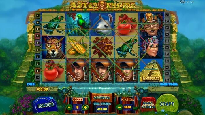 Игровой автомат aztec empire earth