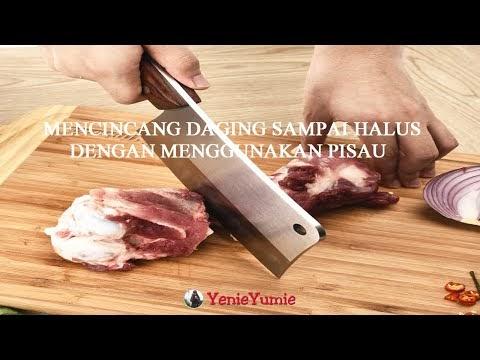 Cara Menghaluskan Daging Ayam Tanpa Mesin Chopper Atau Blender