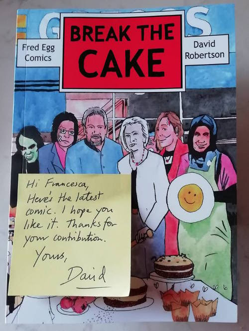 Break The Cake - Fred Egg Comics