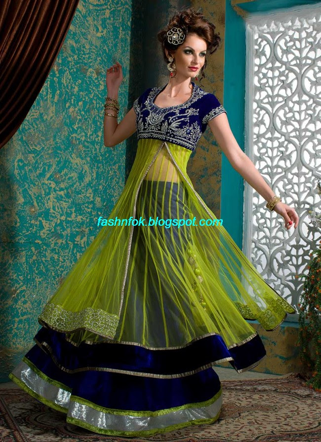 Beautiful-Cute-Girls-Wear-Bridal-Lehenga-Choli-New-Fashion-Dress-Design-2013-16