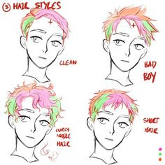 How To Draw Curly Hair Boy Howto Techno