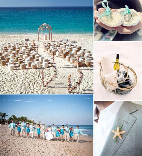 romantic blue beach wedding ideas for summer 2014 (600