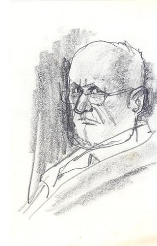 Self-Portrait in Pencil