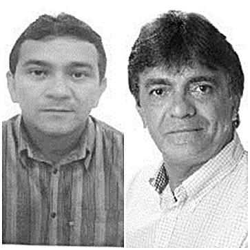 Aldo Lopes, vice e Junior Franco, prefeito de Cururupu
