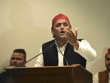 File image of Samajwadi Party president Akhilesh Yadav. PTI