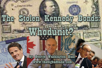 The Stolen Kennedy Bonds - Whodunit