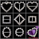 Diamante Rhinestone Buckles Ribbon Sliders Wedding Decor