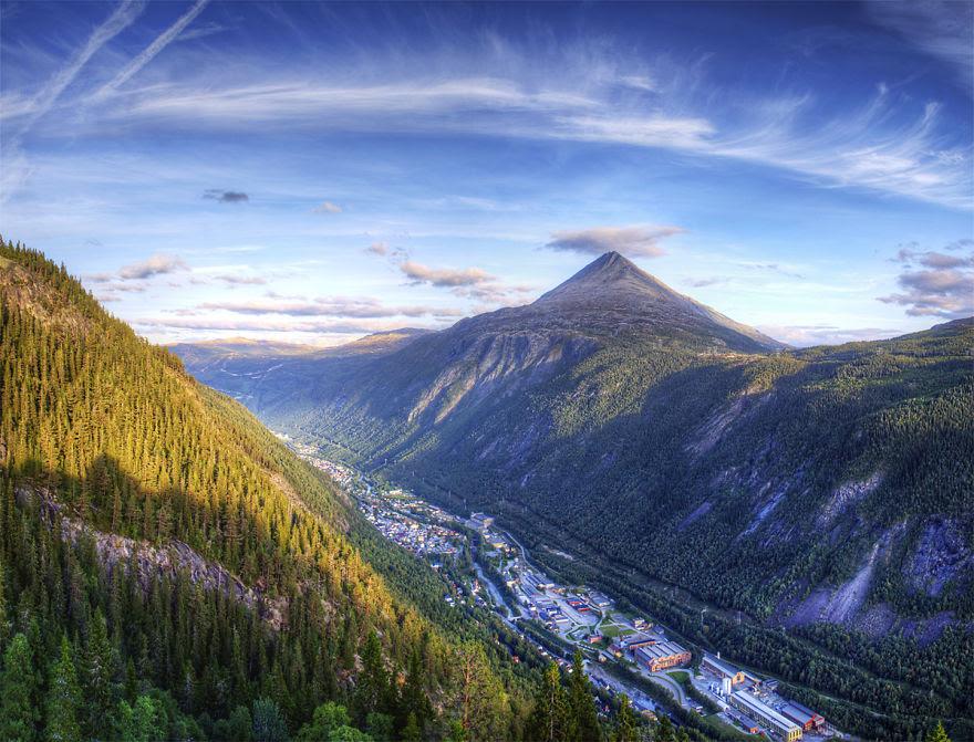 Rjukan, Telemark Fylke