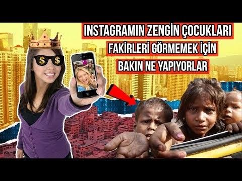 İnstagram'ın Zengin Çocukları (VİDEO)