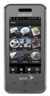 Sprint's Samsung Instinct