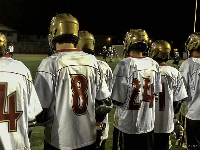 Lacrosse game Downey Vikings