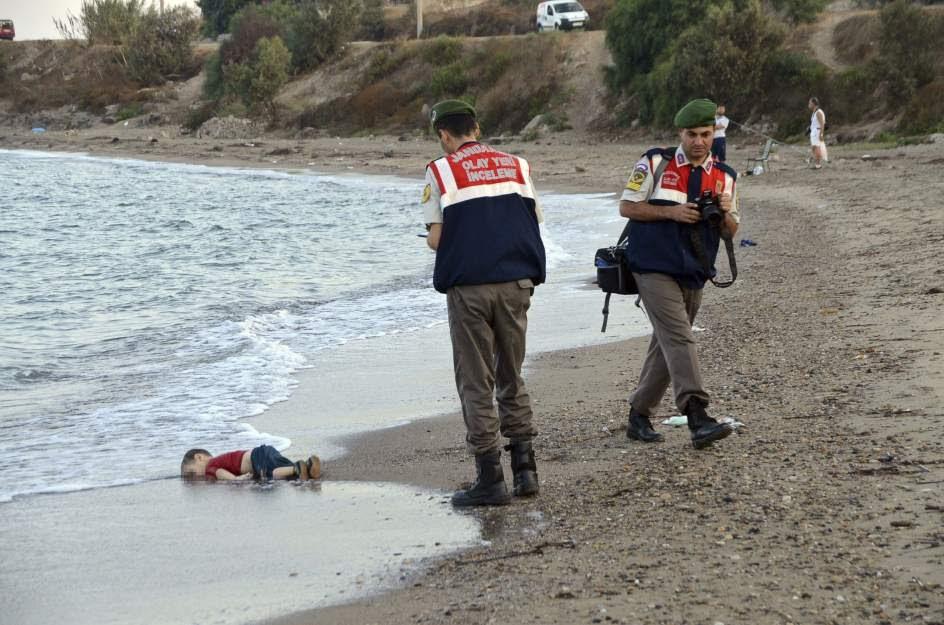 Resultado de imagen de Aylan Kurdi