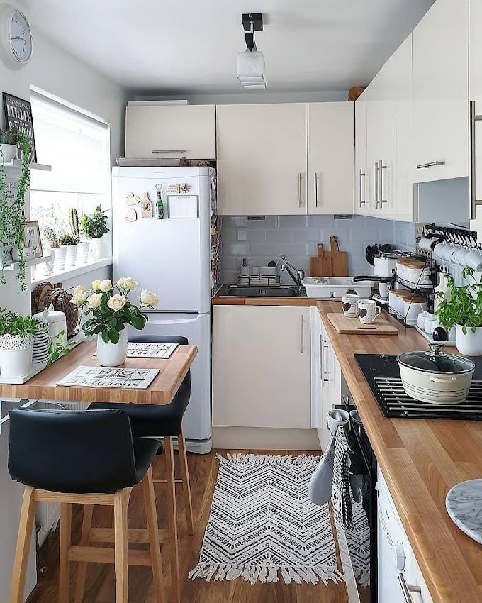 Inspirasi Dapur Mungil Minimalis | Ide Rumah Minimalis