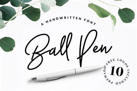 Ball Pen Handwritten Font ~ Script Fonts ~ Creative Market