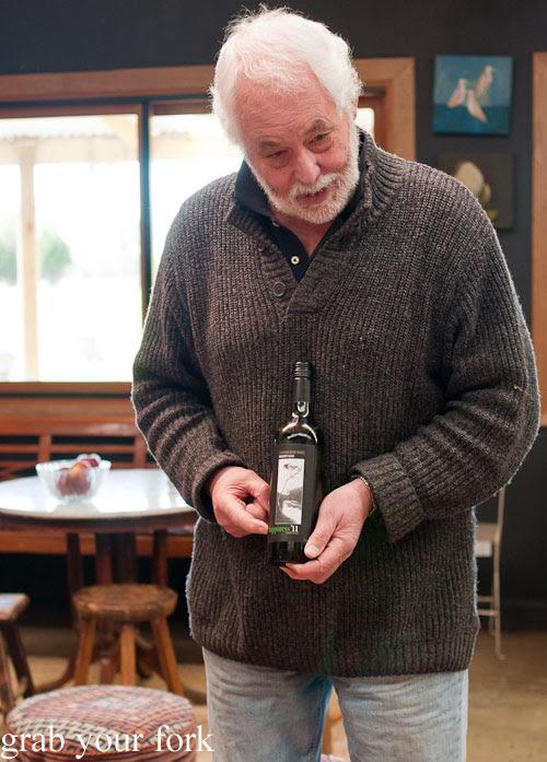 Bruce Kier, co-owner of Chapman River Wines cellar door, Kangaroo Island