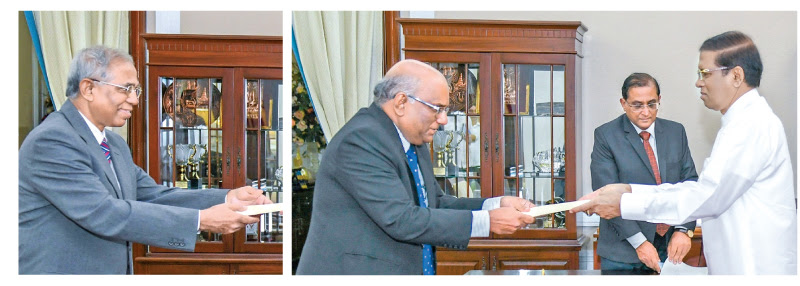 Acting Chief Justice and acting Court of Appeal was sworn before President