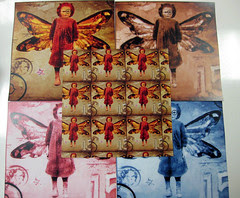 Steampunk Fairies Scrapbook Paper 2