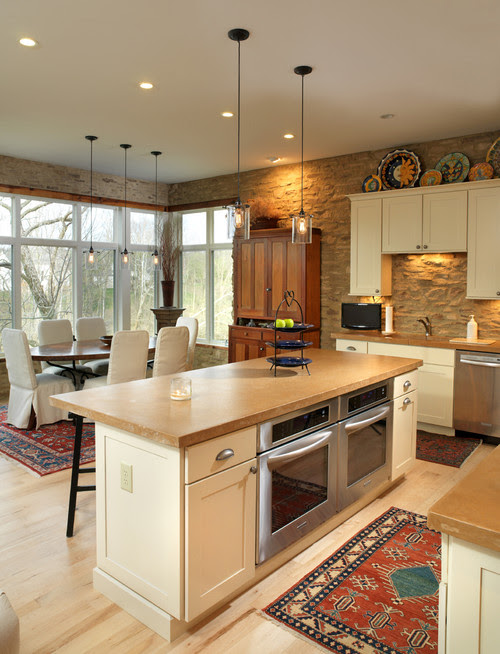 River House eclectic kitchen