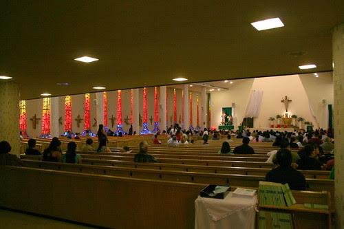 Saint John Bosco Church - sanctuary