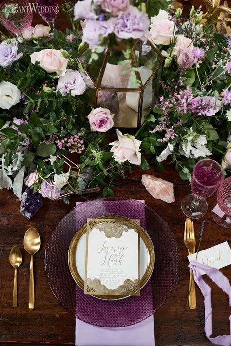 Lavender Picnic Wedding Theme   ElegantWedding.ca