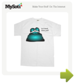 Is it bed time yet? (coloured) tee by MadHippo. Available from MySoti.com.