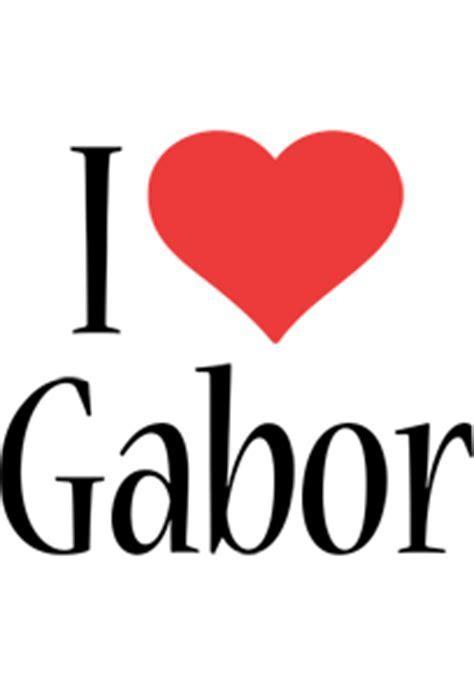 Gabor Logo   Name Logo Generator   I Love, Love Heart