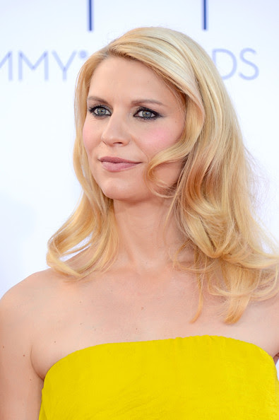 Actress Claire Danes arrives at the 64th Annual Primetime Emmy Awards at Nokia Theatre L.A. Live on September 23, 2012 in Los Angeles, California.
