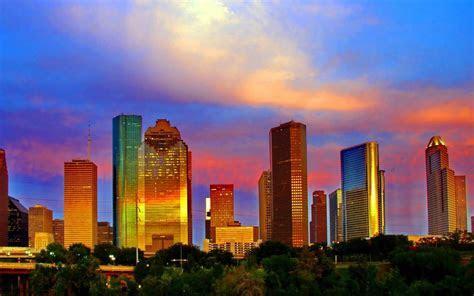 Houston Skyline Wallpapers HD   wallpaper.wiki