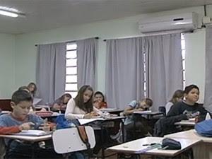 Investimento em educação faz de cidade no RS referência no ensino (Foto: Reprodução/RBS TV)