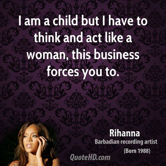 Rihanna Business Quotes Quotehd