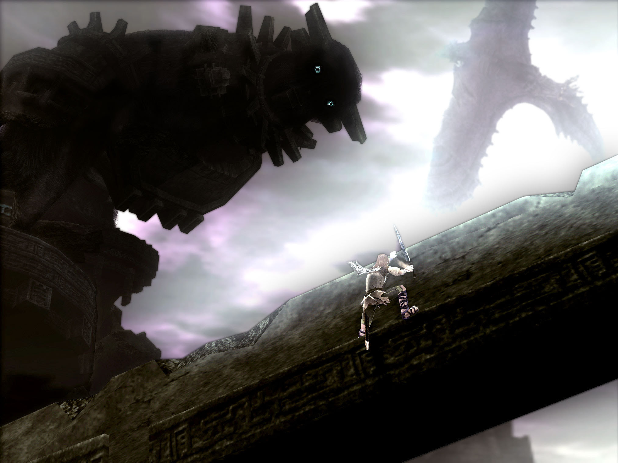 Dont Fall Off Shadow Of The Colossus Wallpaper 8894485 Fanpop