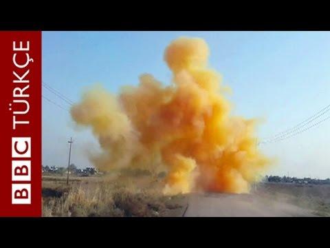 birinci dünya savaşında kullanılmaya başlayan klor bombasını şimdi IŞİD Militanları kullanıyor